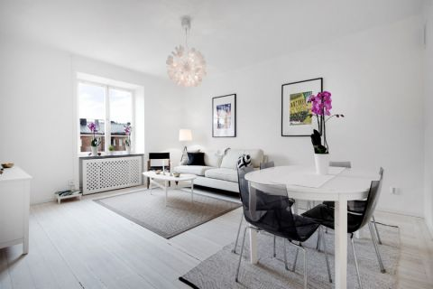 客厅北欧风格效果图大全2017图片_土拨鼠时尚质朴厨房北欧风格装修设计效果图欣赏