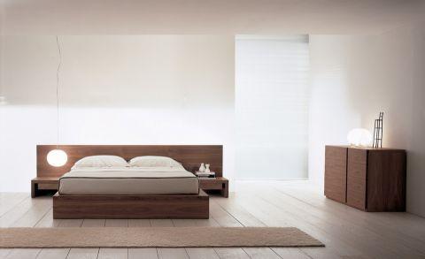 卧室地板砖混搭风格装修设计图片