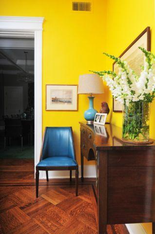 客厅地板砖混搭风格装潢效果图