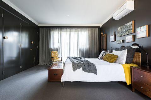 卧室混搭风格效果图大全2017图片_土拨鼠温馨自然卧室混搭风格装修设计效果图欣赏