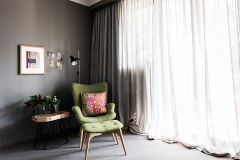 卧室窗帘混搭风格装修效果图