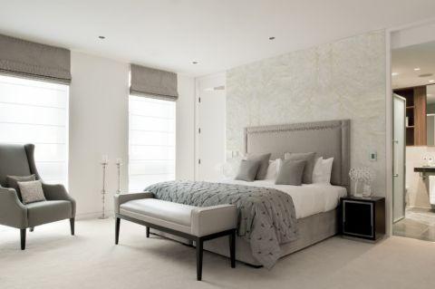 卧室现代风格效果图大全2017图片_土拨鼠唯美风雅卧室现代风格装修设计效果图欣赏