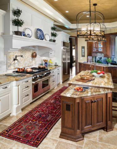 厨房厨房岛台混搭风格装潢图片