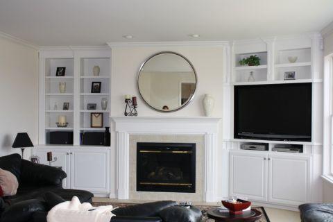 客厅美式风格效果图大全2017图片_土拨鼠简约优雅客厅美式风格装修设计效果图欣赏
