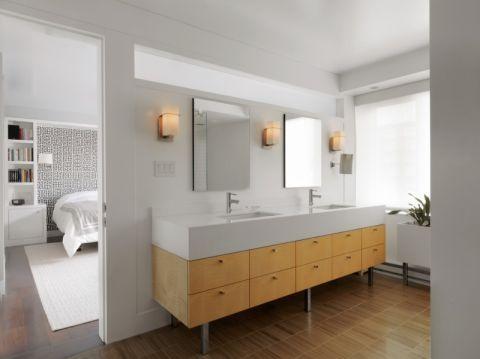 浴室现代风格效果图大全2017图片_土拨鼠豪华创意浴室现代风格装修设计效果图欣赏