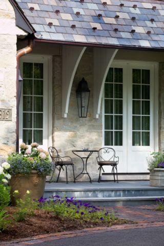 外景外墙美式风格装饰效果图