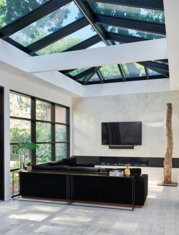 阳光房地砖混搭风格装饰设计图片