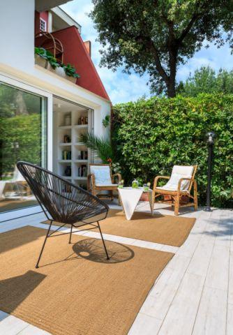 阳台地板砖北欧风格装修设计图片