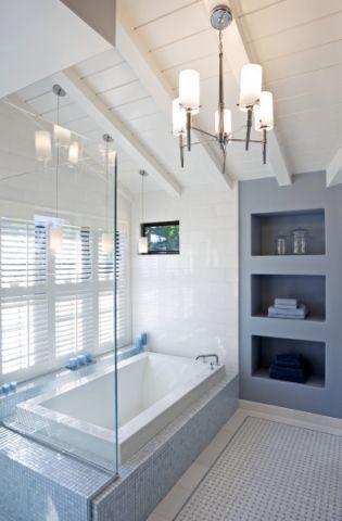 浴室吊顶美式风格装潢图片