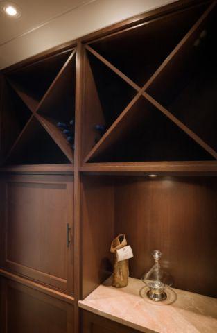 玄关走廊美式风格装潢效果图
