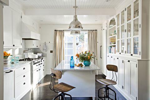 厨房美式风格效果图大全2017图片_土拨鼠优雅淡雅客厅美式风格装修设计效果图欣赏