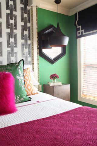 卧室吊顶混搭风格装修设计图片
