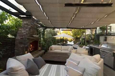 阳台沙发现代风格装修图片