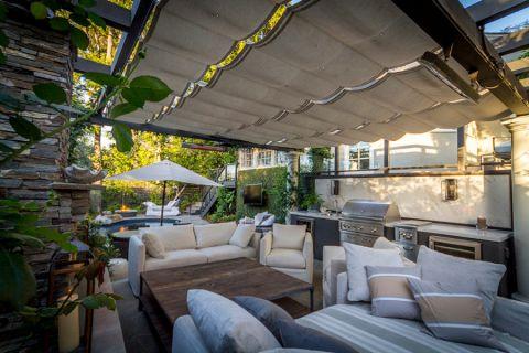 阳台沙发现代风格装饰图片