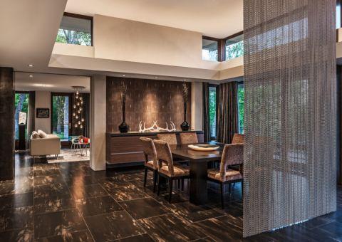 餐厅现代风格效果图大全2017图片_土拨鼠潮流休闲餐厅现代风格装修设计效果图欣赏