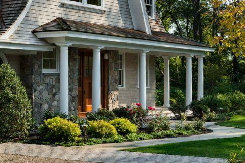 花园细节美式风格装潢图片