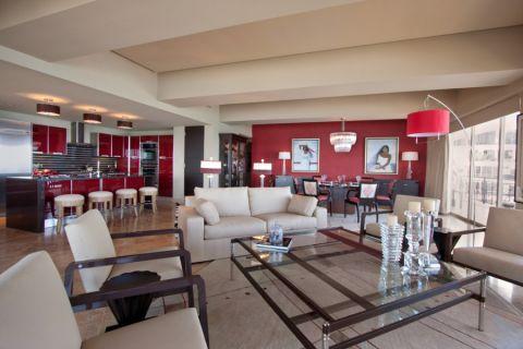 客厅现代风格效果图大全2017图片_土拨鼠简约个性走廊现代风格装修设计效果图欣赏