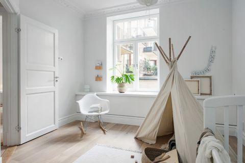 儿童房窗台北欧风格装潢效果图
