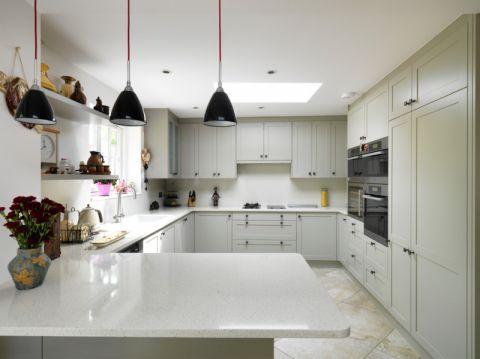厨房现代风格效果图大全2017图片_土拨鼠文艺奢华厨房现代风格装修设计效果图欣赏