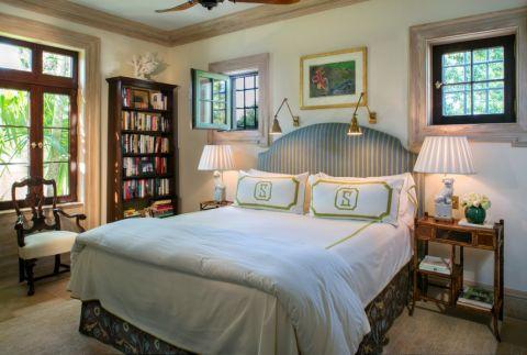 卧室书架地中海风格装修图片