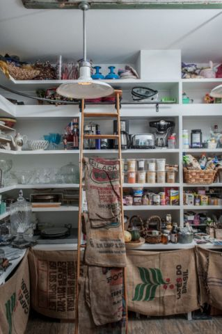 厨房吊顶地中海风格装饰图片