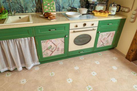 厨房地砖混搭风格装饰效果图