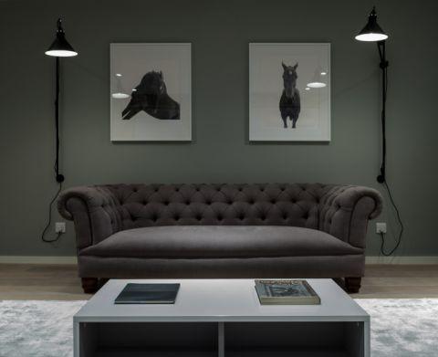客厅照片墙现代风格装潢图片