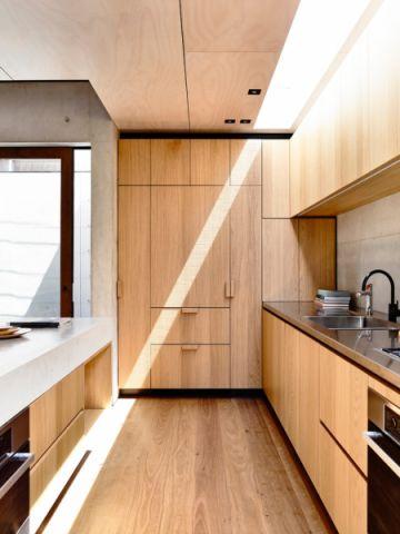 厨房地板砖现代风格效果图