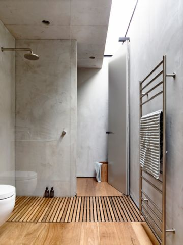 浴室地板砖现代风格装修效果图