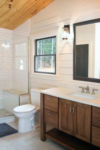 浴室洗漱台现代风格装饰设计图片