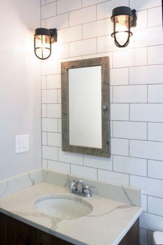 浴室背景墙现代风格装修效果图