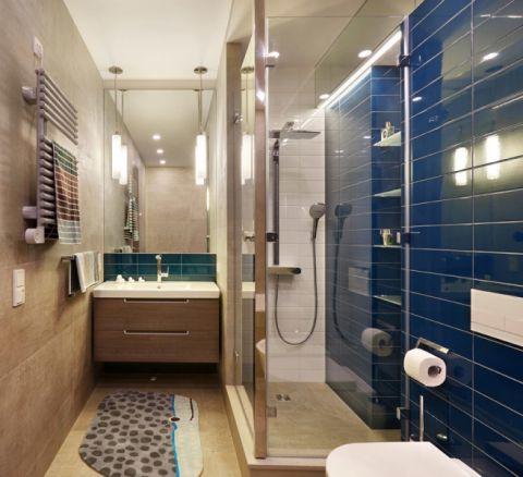 浴室现代风格效果图大全2017图片_土拨鼠干净纯净儿童房现代风格装修设计效果图欣赏