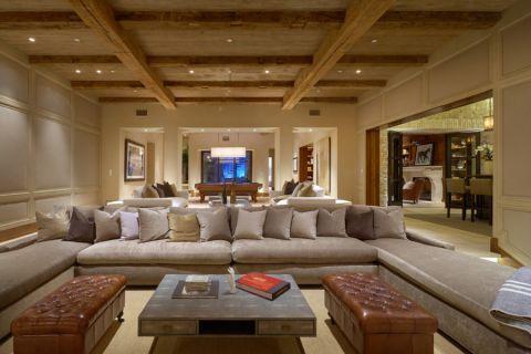 客厅沙发地中海风格装饰图片