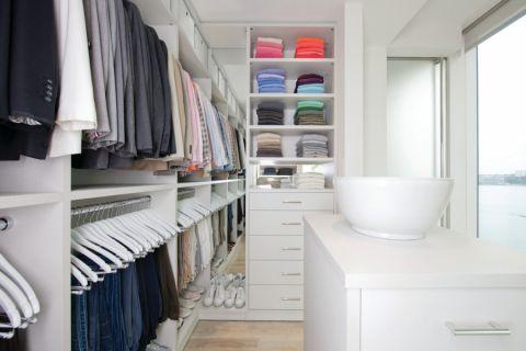 衣帽间衣柜现代风格装饰效果图