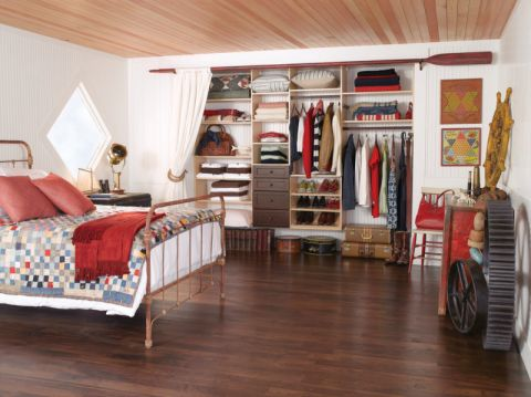 卧室地板砖现代风格装潢效果图