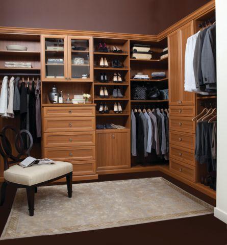 衣帽间衣柜现代风格装修设计图片