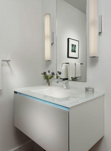卫生间洗漱台现代风格效果图