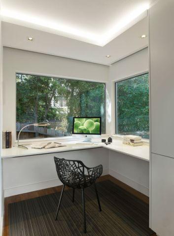 阳台书桌现代风格装潢图片