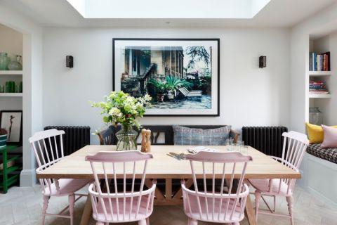 餐厅餐桌混搭风格装潢效果图