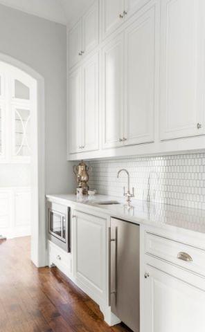 厨房地板砖美式风格装饰效果图