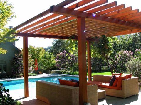 花园现代风格效果图大全2017图片_土拨鼠美好纯净阳台现代风格装修设计效果图欣赏