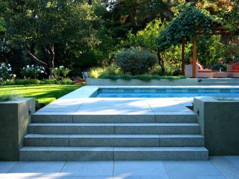 花园楼梯现代风格装潢图片