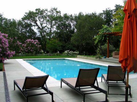 花园地砖现代风格装修效果图