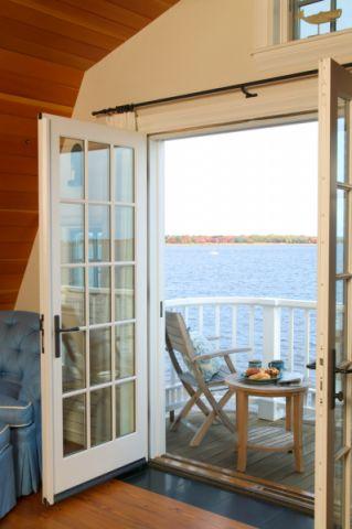 阳台推拉门美式风格装潢图片