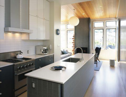 厨房现代风格效果图大全2017图片_土拨鼠大气富丽厨房现代风格装修设计效果图欣赏
