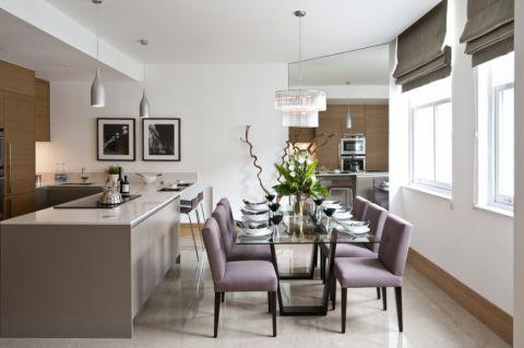餐厅现代风格效果图大全2017图片_土拨鼠潮流舒适客厅现代风格装修设计效果图欣赏