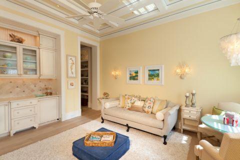 客厅照片墙美式风格效果图