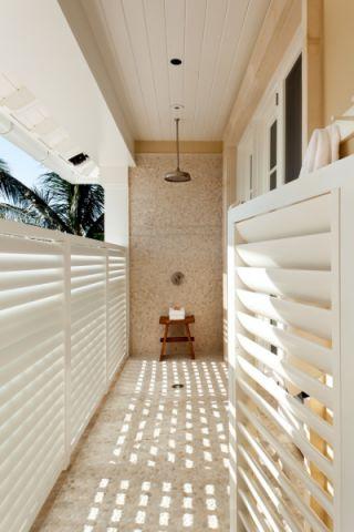阳台细节美式风格装饰图片