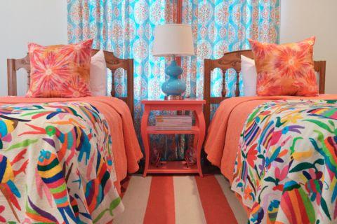 卧室窗帘混搭风格装修设计图片
