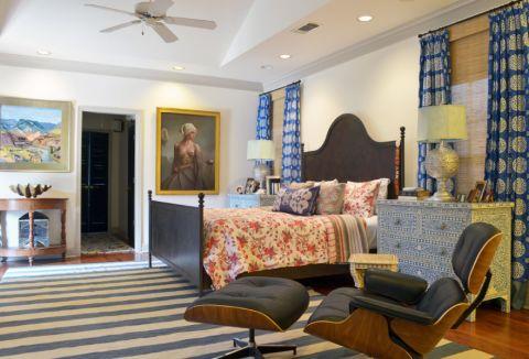 卧室混搭风格效果图大全2017图片_土拨鼠优雅质感卧室混搭风格装修设计效果图欣赏